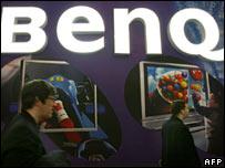BenQ sign