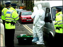 Scene of anti-terror operation in Bridge of Allan