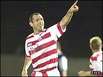 Hamilton striker Pat Keogh