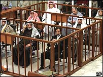 Defendants in Baghdad court