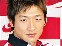 Japanese rookie Yuji Ide
