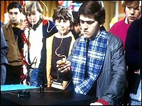 Characters from the TV show Grange Hill in 1986