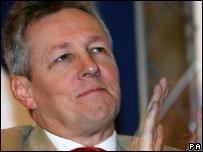 DUP deputy leader Peter Robinson