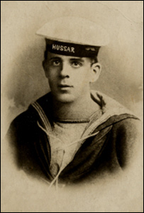 Able Seaman William Charles Williams (Picture Chepstow Museum)