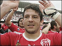 Biarritz captain Benoit August