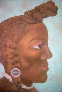Ethnicity Swap Self (native American) by Antoinette Noel