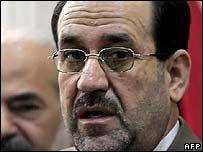 Iraqi prime minister-designate Jawad al-Maliki