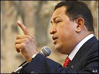 Presidente Hugo Ch�vez.