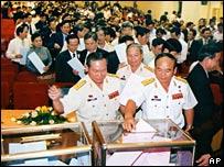 Delegates in Hanoi