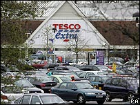 Tesco Extra store in Surrey