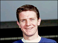 Everton legend Brian Labone