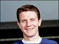 Everton legend Brian Labone