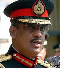 Lt Gen Sarath Fonseka