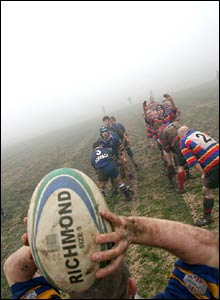 Jonathan Farber's foggy line out