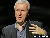 Film director James Cameron