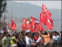 Protest in Kathmandu