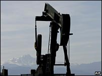 Oil well in Denver