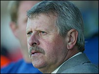 Dungannon Swifts manager Joe McAree