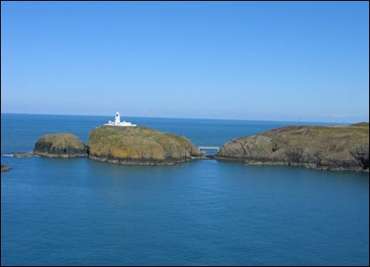 A glorious day at Strumble Head, Fishguard, sent in by Gareth Morgan