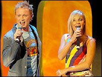 Jemini, who came last at Eurovision 2003 with 'nul points'