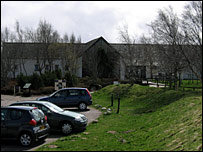 Existing Culloden Battlefield centre