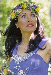 La cantante Gilda
