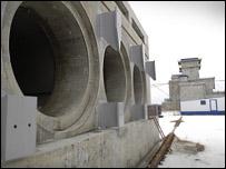 Chernobyl dry waste storage facility