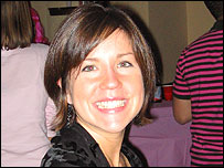 Mar�a Pilar Barreto, estudiante de la clase de Psicolog�a Positiva