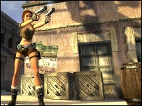 Screen shot of Tomb Raider: Legend