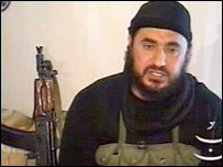Video allegedly showing Abu Musab al-Zarqawi (archive photo)