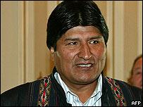 Presidente Evo Morales.
