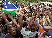 Solomon Islanders rejoice on hearing that Snyder Rini is stepping down