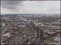 View from Beetham Tower, Manchester