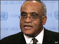AU mediator Salim Ahmed Salim