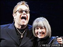 Sir Elton John and Anne Rice