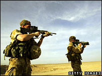 UK troops in Helmand province, southern Afghanistan