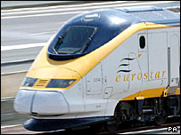 Eurostar trains will continue running into waterloo until 13 november