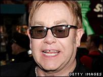 Sir Elton John attends the Broadway opening of Lestat