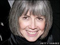 Anne Rice, at the opening of Lestat in New York