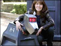 K-9 and Elisabeth Sladen