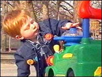 Rhys Evans underwent gene therapy in the UK in April 2002