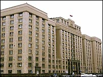 Современное здание Государственной Думы России