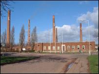 Stewartby brickworks