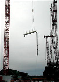 Construction site.  Image: BBC