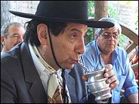 Antonio Caballero, presidente de la Confederación Gaucha Argentina