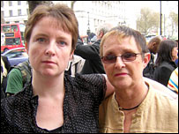 Sarah Chapman and Di O'Connor