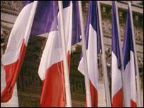 Французские флаги