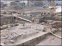 The Marmaray dig site