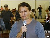 Amair Feijoli da Cunha in court