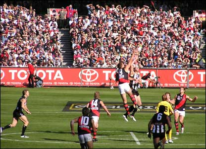 Rugby at the Melbourne Cricket Ground, Australia